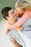 Dans l'amour Photographie stock libre de droits