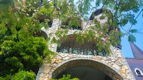 Dans l'amour avec le vent, le château de Ravadinovo - la Bulgarie Images stock