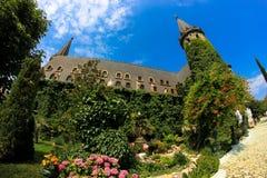 Dans l'amour avec le vent, le château de Ravadinovo - la Bulgarie Image stock