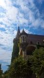 Dans l'amour avec le vent, le château de Ravadinovo - la Bulgarie Photo stock