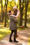 Dans l'amour avec un homme Images stock