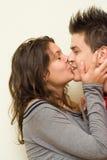 Dans l'amour - bonheur photos libres de droits
