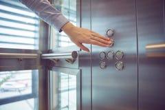 Dans l'ascenseur image stock