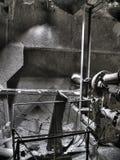 Dans l'atelier abandonné Photographie stock