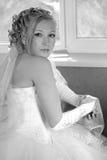 Dans l'espérance du marié Photo stock