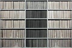 Dans la bibliothèque Photographie stock