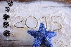 2015 dans la boulangerie Image libre de droits