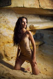 Dans la caverne 3 Photos libres de droits