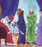 Dans la cour du roi illustration stock