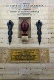 Dans la crypte du Panthéon à Paris image libre de droits