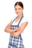 Dans la cuisine image libre de droits
