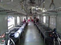 Dans la gare ferroviaire thaïlandaise latérale de Hadyai de train, la Thaïlande Image stock