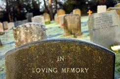 Dans la mémoire affectueuse Images libres de droits