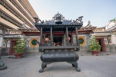 Dans la pagoda dans le secteur 5 à Ho Chi Minh Ville images libres de droits
