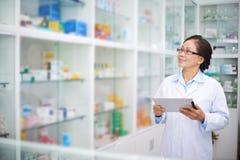 Dans la pharmacie photo libre de droits