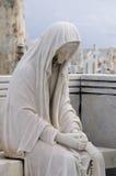 Dans la prière Photo libre de droits