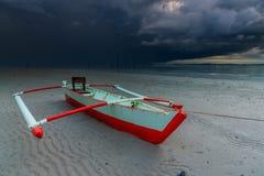 Dans la prochaine tempête Image libre de droits
