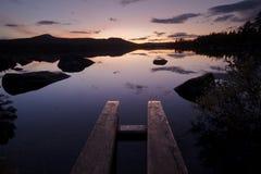Dans la région sauvage de la Suède Photo libre de droits