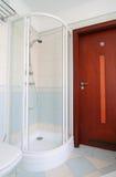 Dans la salle de bains Photo libre de droits