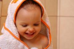 Dans la salle de bains Image libre de droits