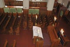 Dans la synagogue de choral de Moscou Photos stock