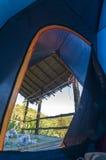 Dans la tente Photographie stock