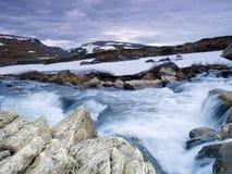 Dans la vallée de Stroplsjodalen, la Norvège Photo libre de droits