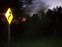 Dans la vie il y a courbe toujours en avant, ralentissent images libres de droits