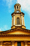 dans la vieilles construction et histoire de Notting Hill Angleterre l'Europe Photos stock