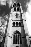 dans la vieilles construction et histoire de Notting Hill Angleterre l'Europe Photographie stock libre de droits