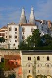 Dans la ville de Sintra Photos stock