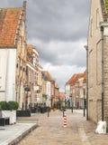Dans la ville néerlandaise de Heusden. Photos stock