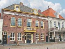 Dans la ville néerlandaise de Heusden. Pays-Bas Images libres de droits