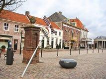 Dans la ville néerlandaise de Heusden. Pays-Bas Image stock