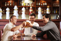 Dans le bar Photo stock