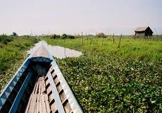 Dans le bateau Photographie stock libre de droits