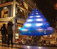 Dans le bleu, 2008 - sculpture Photographie stock