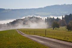 Dans le brouillard Photographie stock libre de droits