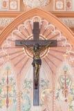 Dans le côté Roman Catholic Diocese ou la cathédrale de l'Immaculat Image libre de droits