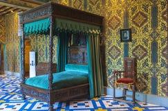 Dans le château de Blois Image stock