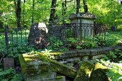 Dans le cimetière photographie stock libre de droits