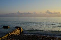 Dans le coucher du soleil 2 Photos stock