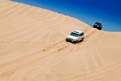 Dans le désert photographie stock