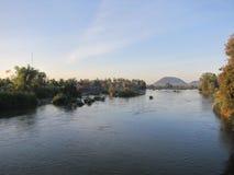 Dans le Mekong Photographie stock