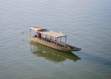 Dans le Mekong Photos libres de droits