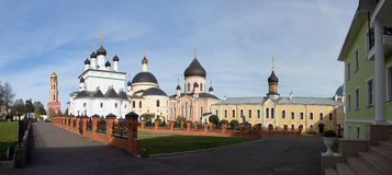 Dans le monastère de David Deserts image libre de droits