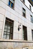 dans le mur d'abat-jour d'architecture de l'Europe Italie Image libre de droits