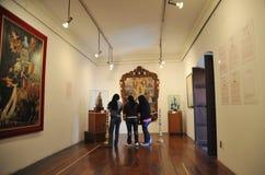 Dans le musée La Paz de ville Photos libres de droits