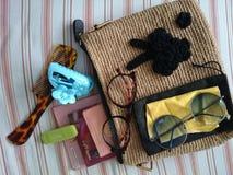 Dans le mybag fait main Images libres de droits