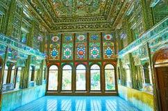 Dans le palais splendide de Chiraz, l'Iran Photo libre de droits